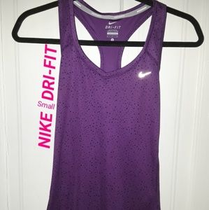 *NIKE DRI-FIT* Racerback Tank Top Fitness Shirt